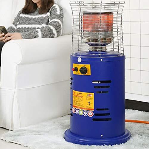 ZL Tondo in Piedi Propano Liquido Serbatoio Patio Heater Immediata Riscaldamento, Cassa in Acciaio e Copertura Home Campeggio Patio Heater Regolabile