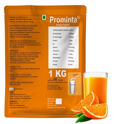Instant Energy Drink Powder Orange - 1KG