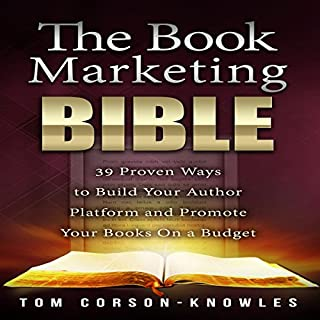 The Book Marketing Bible audiobook cover art