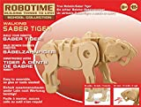 Robotime Kit 73pz Dinosaurio pequeño Madera Saber Tiger RT 9111