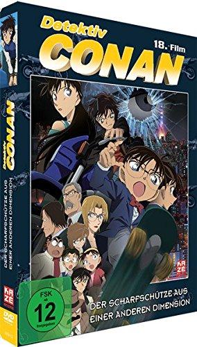Detektiv Conan: Der Scharfschütze aus einer anderen Dimension - 18.Film - [DVD] - Limited Edition