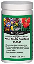 Voluntary Purchasing Group 10721 Fertilome Geranium Hanging Basket and Pansy Plant Food, 1.5-Pound