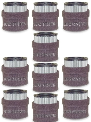 10 pack New Filter Replacement rewashable Polyester element for air compressor replaces Champion P5051A Ingersol Rand 32165466 32012957 Quincy 110377E100 Grainger 1R417 -  19P 10 pack