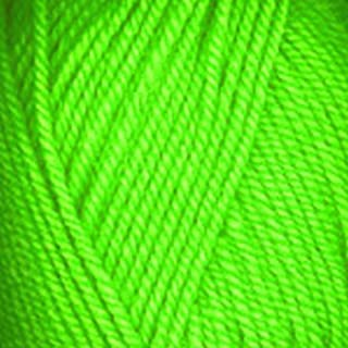 Plymouth (5-Pack) Encore Worsted Yarn Neon Green 0477-5P