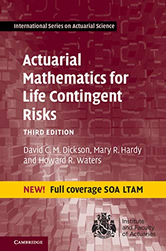 Actuarial Mathematics for Life Contingent Risks (International Series on Actuarial Science) (English Edition)