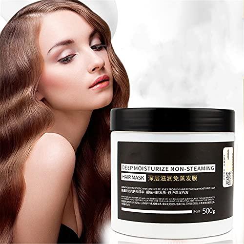 Tratamiento capilar hidratante profundo de 3 minutos, mascarilla sedosa para el cabello de 500 ml, tratamiento acondicionador para mascarilla capilar, mascarilla capilar