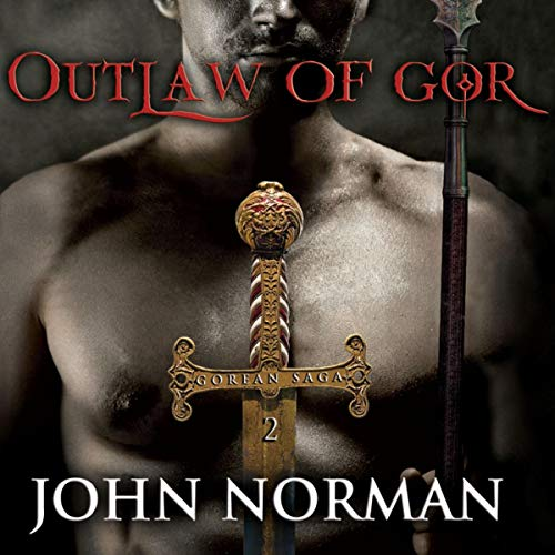 Outlaw of Gor audiobook cover art