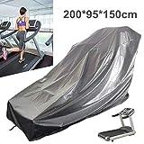 dDanke Housse de protection imperméable à la poussière pour tapis de course de sport et de course à pied en tissu Oxford 200 x 95 x 150 cm