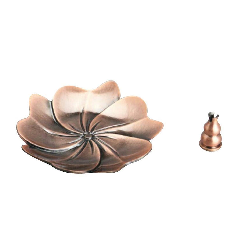 禁止する急速なぶどうFidgetGear Chinese Gourd Shape Incense Burner Holder Censer Plate For Stick&Cone Red#6