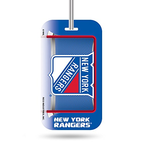Find Discount Rico Industries NHL New York Rangers Plastic Team Luggage Tag