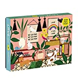 Galison Love Lives Here 1000 Piece Jigsaw Puzzle for Adults and Families, Inspirational Puzzle with Quotes and Positive Messages, Multicolor