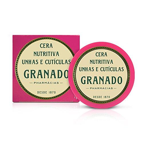 Cera Nutritiva Unhas e Cutículas Pink, Granado, Rosa, 7g