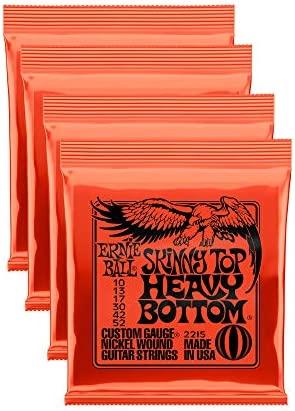 Top 10 Best skinny top heavy bottom guitar strings