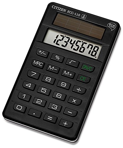 Citizen ECC-110 Taschenrechner schwarz