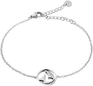 PAUL HEWITT Armkette Damen Sail Away - Edelstahl Armband Damen mit Schmuck Anhanger aus Edelstahl Segelboot