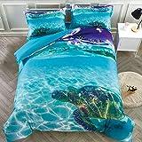 Ropa de cama con diseño de unicornio volando