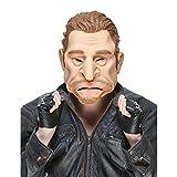 DEGUISE TOI - Masque Humoristique en Latex Johnny Adulte - Taille Unique