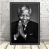 Poster Druckt Nelson Mandela Great Star Kunst Malerei Tinte