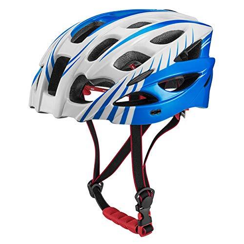 Renoble N6DFDY5K27M80FPUUI - Casco de ciclismo, color azul