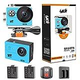 YDI G80 Action Cam 4K Impermeabile WiFi Sport Camera Videocamera 20MP Ultra HD Schermo Doppio con...