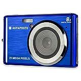 AGFA Photo Realishot DC5200 - Fotocamera digitale compatta (21 MP, schermo LCD da 2,4', zoom digitale 8x, batteria al litio