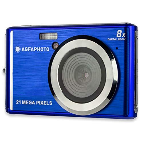 AGFA PHOTO Realishot DC5200 - Appareil Photo Numérique Compact (21 MP, Ecran LCD 2.4'', Zoom Digital 8X, Batterie Lithium)