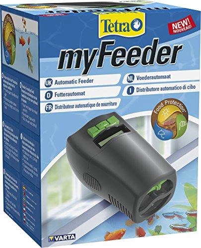 Tetra myFeeder Futterautomat für Zierfische im Aquarium, anthrazit, inklusive Batterien - 2