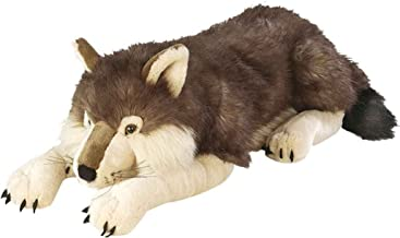 Best big wolf plush toy Reviews
