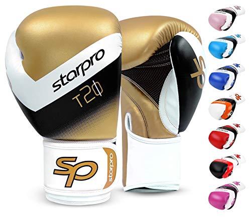 Starpro   T20 Boxhandschuhe für Harte Schläge & schnelles K.O.   Boxhandschuhe Männer, Boxhandschuhe Damen, Box Handschuh Herren Set, Boxen Sport, Box Training, Box Handschuhe, Boxing Gloves
