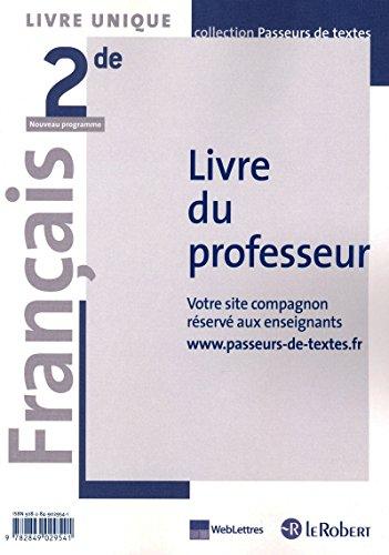 Français 2de Livre unique