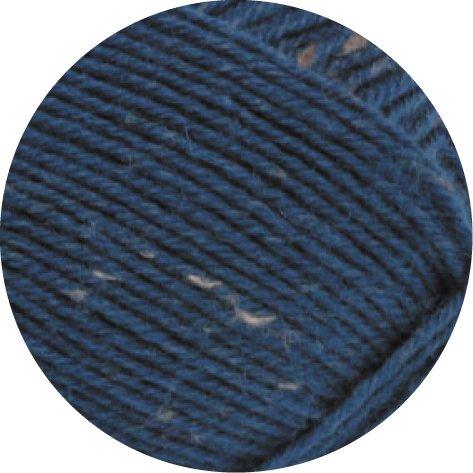 Lana Grossa MEILENWEIT 100g Tweed 0128 - Blau