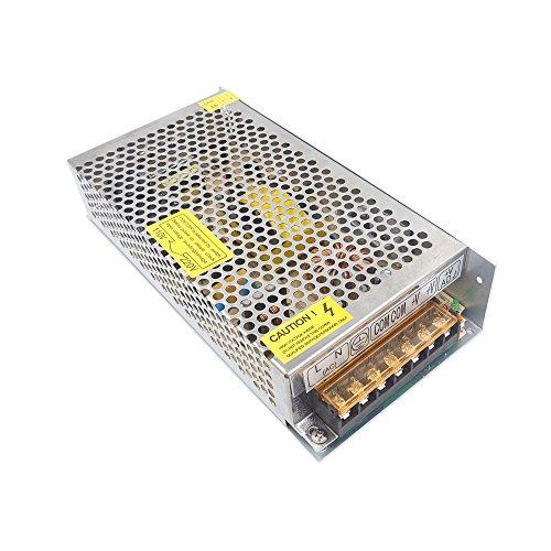 Redrex 12V 10A Alimentation Transformateur 120W Convertisseur AC 110/220V to DC Commutation Alimentation pour Strip LED Lights CCTV Ordinateur Projet Système de Sécurité