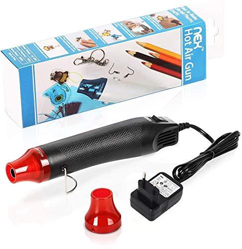 Mini-Heißluftpistole, tragbare 300-W-Heißluftpistole zum Prägen von Schrumpffolien Farbe Trocknen Handwerk Elektronik Elektronik DIY