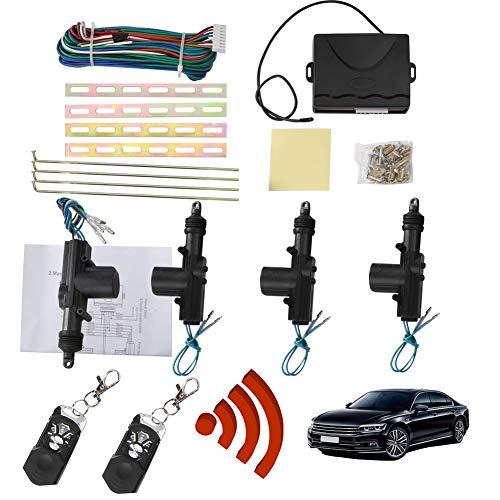 YSHtanj Auto Keyless Ingang Systeem Alarm Systemen & Beveiliging Auto Alarm Auto Afstandsbediening Centrale Fob Alarm Beveiliging Kit Deurvergrendeling Keyless Ingang Systeem