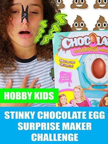 Hobby Kids Stinky Chocolate Egg Surprise Maker Challenge