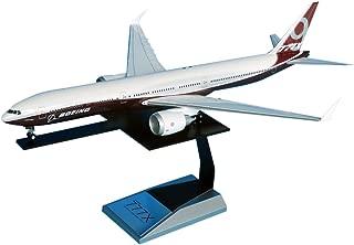 全日空商事 1/200 777-9X BOEINGハウスカラー 地上折りたたみ翼 完成品ソリッド ギア付