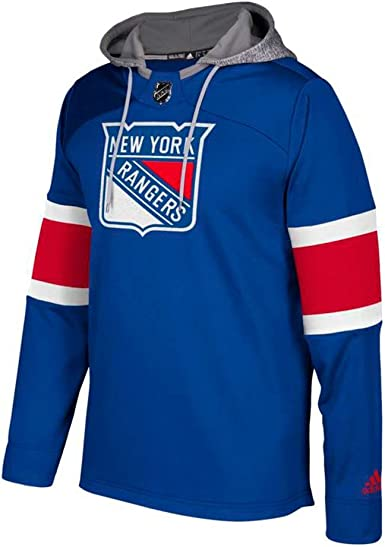 Amazon.com : adidas New York Rangers NHL Men's Blue Team Platinum ...