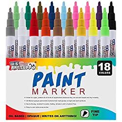 Best Paint Markers 2020 For Wood Rocks Canvas Glass Mugs