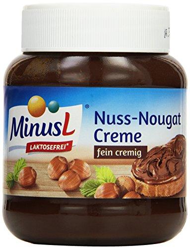 Minus L Nuss-Nougat Creme, 6er Pack (6 x 400 g)