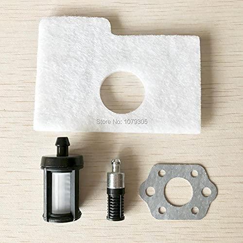 4 unids/set junta de carburador limpiador de filtro de aceite y combustible de repuesto para motosierra STIHL 017018 MS170 MS180 100% Nuevo