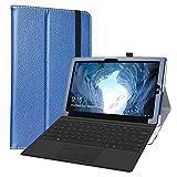 LiuShan Compatible con CHUWI Ubook Funda,Folio Soporte PU Cuero con Funda Caso para 11.6' CHUWI Ubook Tablet(No es Compatible con 12.3' CHUWI UBook Pro Tablet),Azul