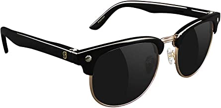Glassy Sunhaters Morrison Polarised Sunglasses - Black Gold