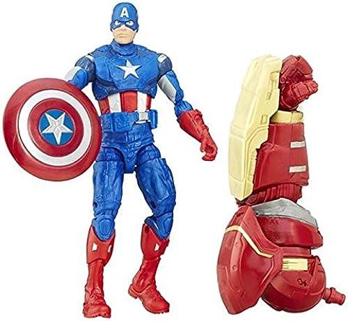 Hasbro - Avengers Figurine Captain America 16 cm Marvel Legends