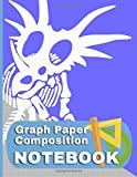 Graph Paper Notebook Styracosaurus: Dinosaur Fossil Themed Quad Ruled - 4 Squares Per Inch - 8.5 by 11 - 150 Page Notebook