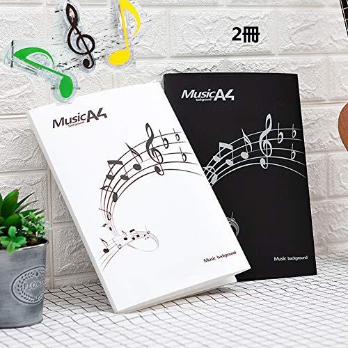楽譜ファイル 4ページ展開 楽譜変更可能 書込A4ライティングファイル 6枚収納 に展開可能 楽譜フォルダー