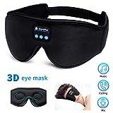 WU-Minglu, Bluetooth-Schlafmaske, kabellos, 3D-Augenmaske, Schlafkopfhörer, Musik, Reisen,...