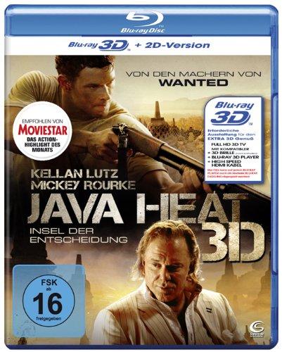 Java Heat - Insel der Entscheidung (inkl. 2D Version) [Blu-ray 3D]