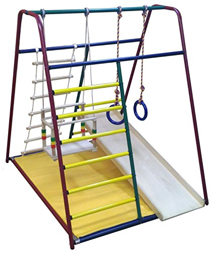 Best Price! Funny baby Mini - Kid's Indoor Playground Climber Set with Accessories
