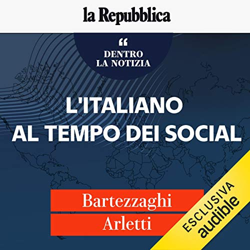L'italiano al tempo dei social audiobook cover art