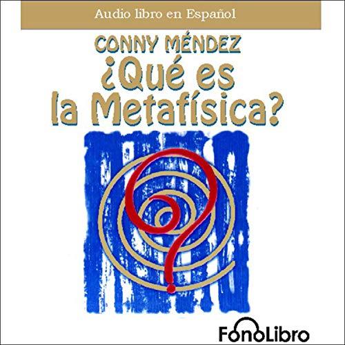 Que es la Metafísica [What Is Metaphysics] Titelbild